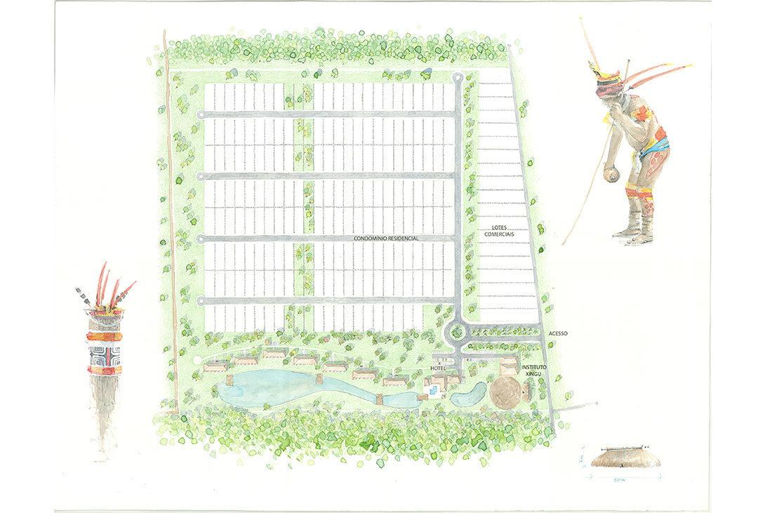 Projeto para Hotel e Instituto Insolito Xingu
